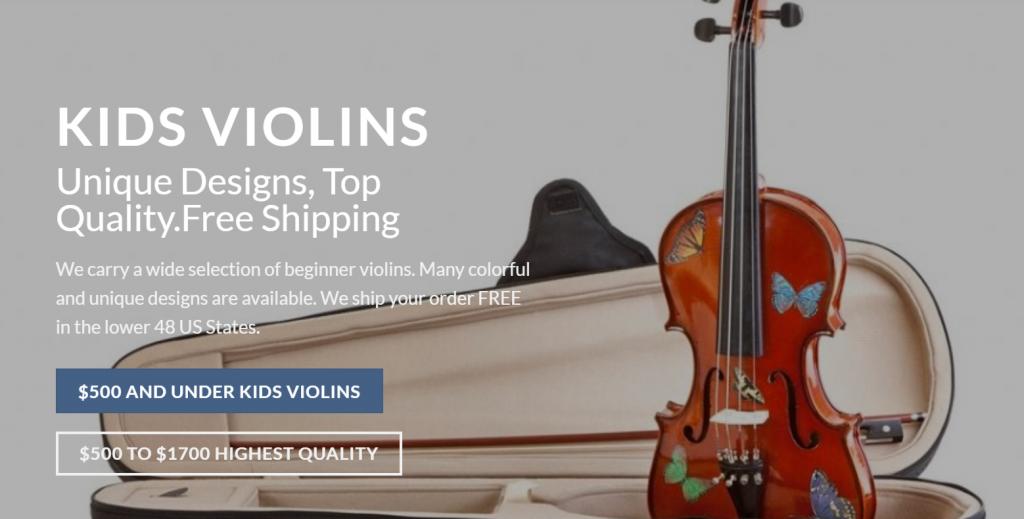 Kids-Violins-beginner-violins-store